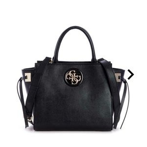 Guess Satchel hand bag Open Road Society Satchel